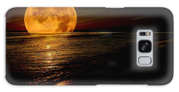 Moonrise Galaxy Case by James C Thomas