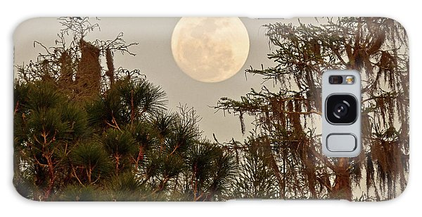 Moonrise Over Southern Pines Galaxy Case