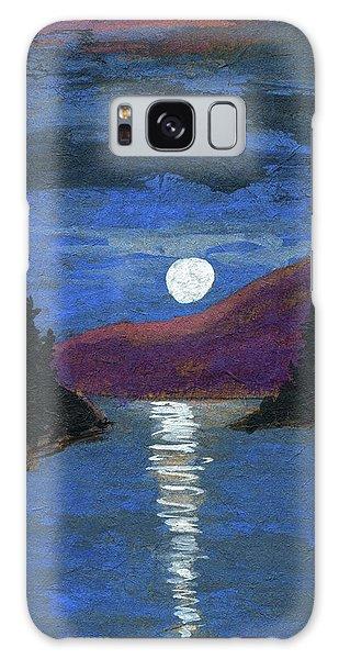 Moonrise Over Strait Galaxy Case