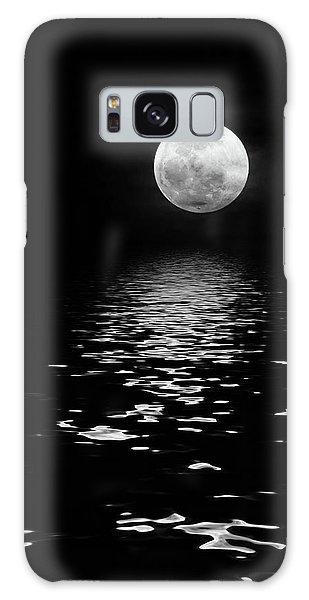 Moonrise Over The Atlantic Galaxy Case