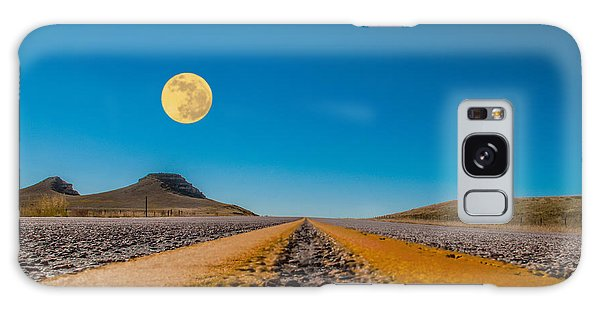 Moonrise Wyoming Galaxy Case