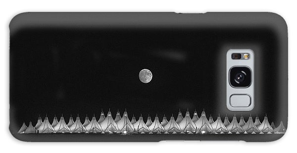 Moonset Over Dia Galaxy Case