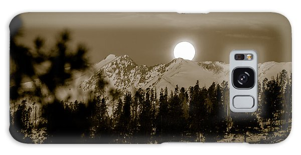 moonset over the Rockies Galaxy Case