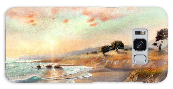 Moonstone Beach California Galaxy Case