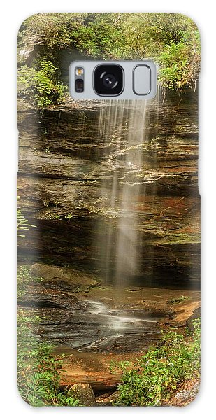 Moore Cove Falls Galaxy Case