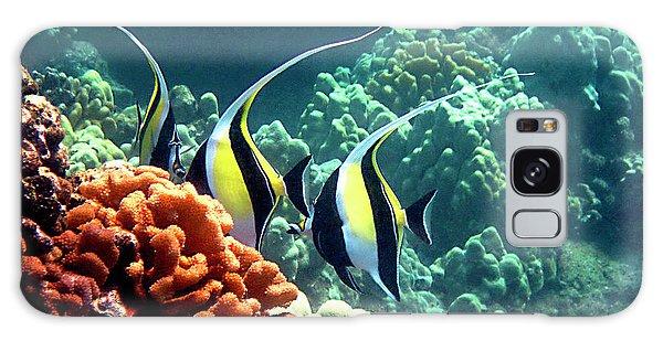 Moorish Idols Over Coral Galaxy Case