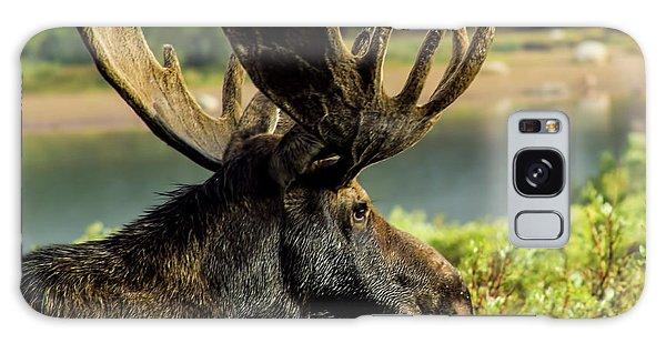 Moose Adventure Galaxy Case by Steven Parker