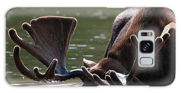 Moose Antlers Galaxy Case