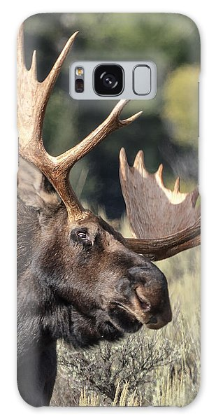 Galaxy Case featuring the photograph Moose by John Gilbert