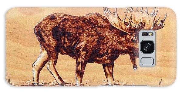 Moose Marsh Galaxy Case by Ron Haist