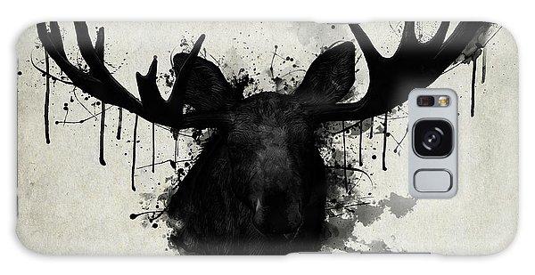 Antlers Galaxy Case - Moose by Nicklas Gustafsson