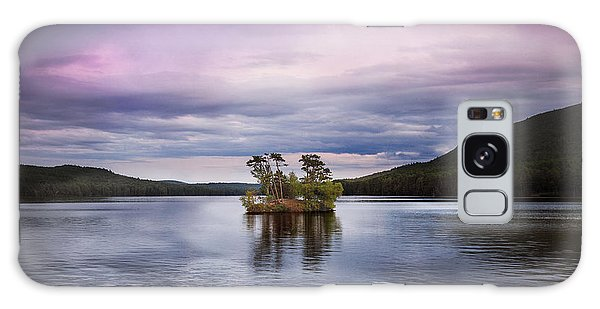 Moose Pond Maine Galaxy Case