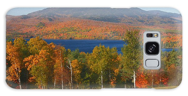 Moosehead Lake In Autumn Galaxy Case by John Burk