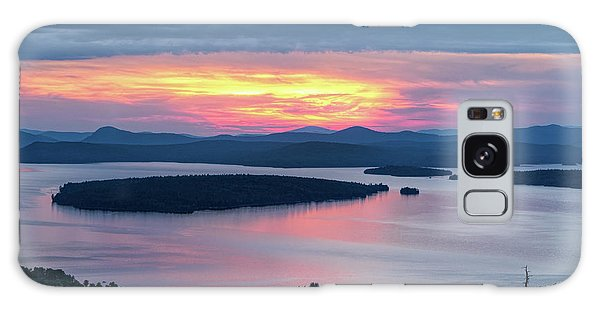 Mooselookmeguntic Lake In The Last Light Of Day - Rangeley Me  -63430 Galaxy Case