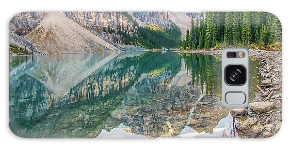 Galaxy Case featuring the photograph Moraine Lake 2009 04 by Jim Dollar