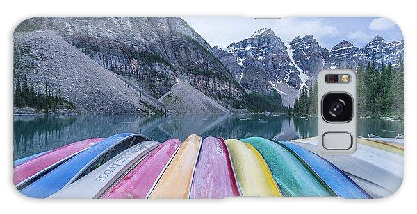 Moraine Lake Colors Galaxy Case