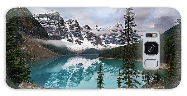 Moraine Lake In The Canadaian Rockies Galaxy Case
