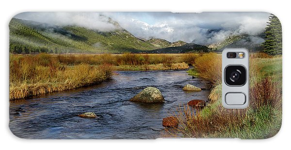 Moraine Park Morning - Rocky Mountain National Park, Colorado Galaxy Case