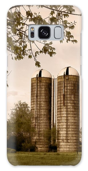 Morgan Dairy Grain Silos Galaxy Case