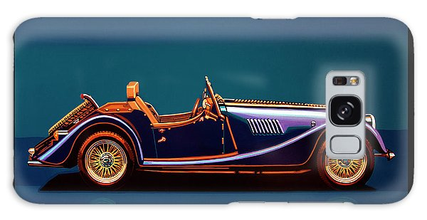Coupe Galaxy Case - Morgan Roadster 2004 Painting by Paul Meijering