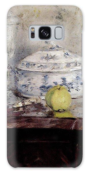 Morisot Berthe Tureen And Apple Galaxy Case by Berthe Morisot