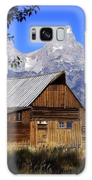 Mormon Row Barn  1 Galaxy Case