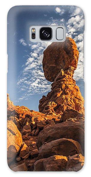 Morning At Balance Rock Galaxy Case