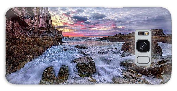 Morning At Bald Head Cliff Galaxy Case by Rick Berk