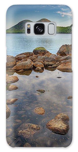 Morning At Jordan Pond Galaxy Case by Rick Berk