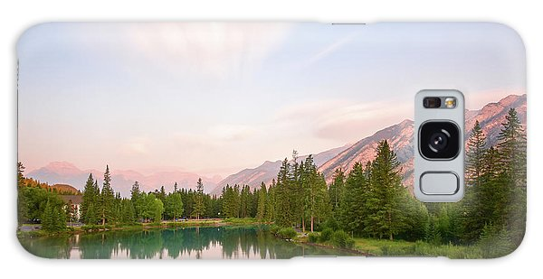 Moraine Lake Galaxy Case - Morning At The Lake by Paul Quinn