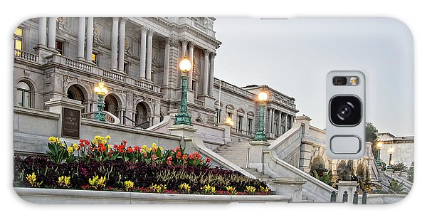 Morning At The Library Of Congress Galaxy Case by Greg Mimbs