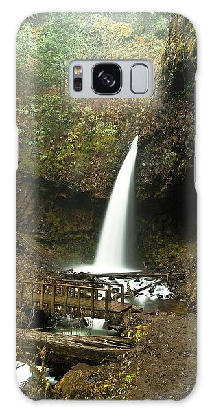 Morning At The Waterfall Galaxy Case