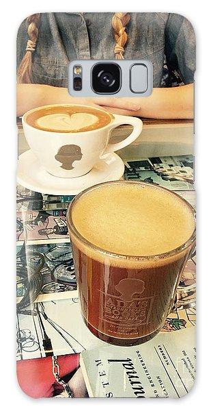 Morning Coffee Galaxy Case