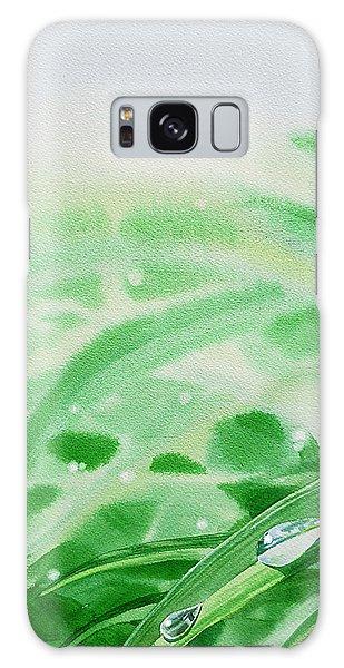 Hyper-realistic Galaxy Case - Morning Dew Drops by Irina Sztukowski