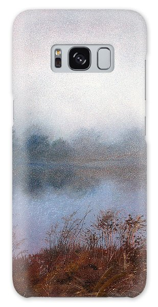 Morning Fog Galaxy Case by Andrew King