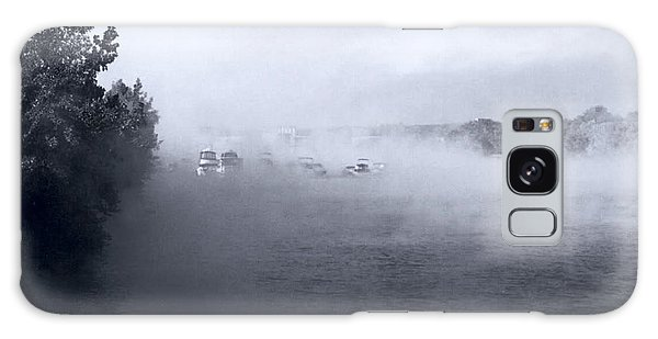 Galaxy Case featuring the photograph Morning Fog - Hudson River by John Schneider
