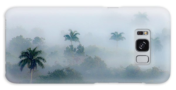 Morning Fog, Vinales Valley Galaxy Case