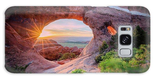 Beautiful Sunrise Galaxy Case - Morning Glory by Edgars Erglis