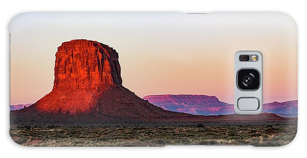 Morning Glory In Monument Valley Galaxy Case