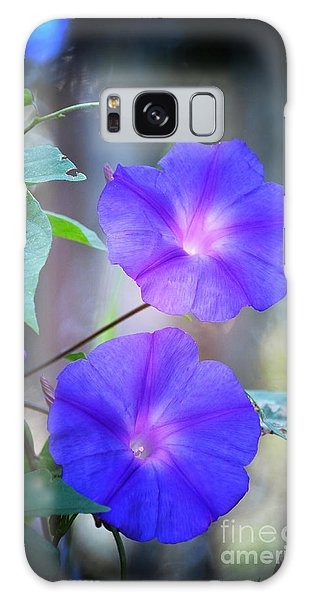 Morning Glory Galaxy Case by Kathy Baccari