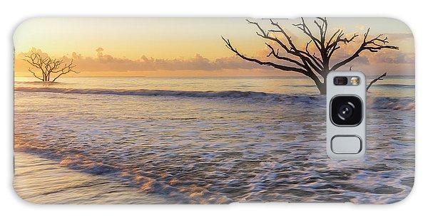 Morning Glow At Botany Bay Beach Galaxy Case