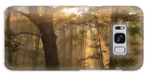 Morning God Rays Galaxy Case