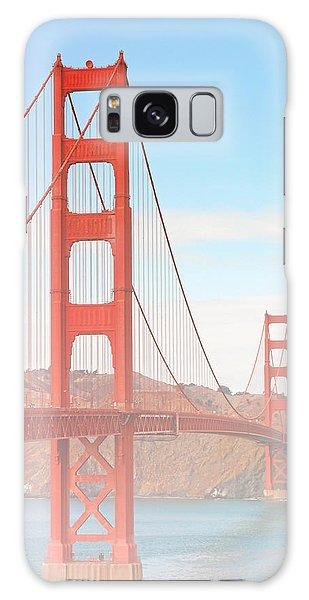 Morning Has Broken - Golden Gate Bridge San Francisco Galaxy Case