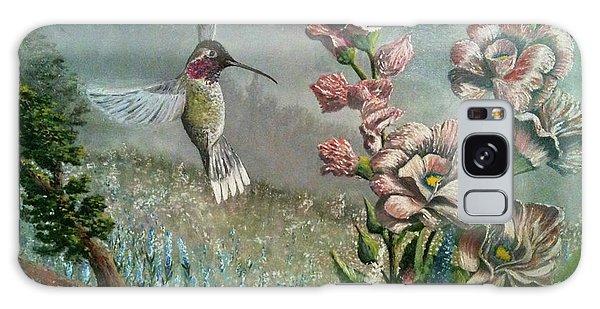 Morning Hummingbird Galaxy Case