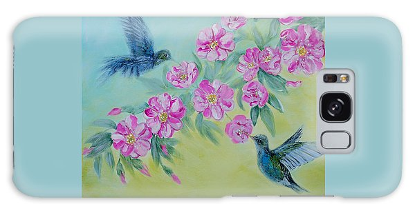 Morning In My Garden. Special Collection For Your Home Galaxy Case by Oksana Semenchenko