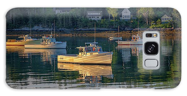 Galaxy Case featuring the photograph Morning In Tenants Harbor by Rick Berk