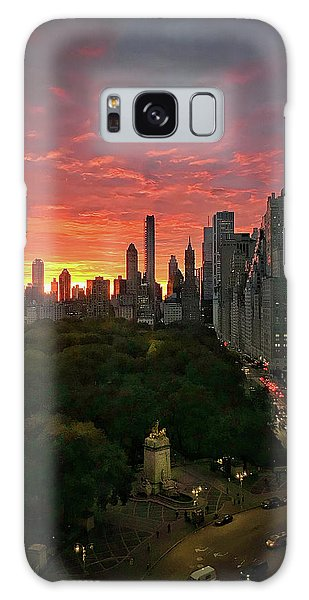 Morning In The City Galaxy Case