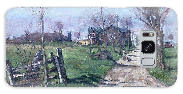 Georgetown Galaxy S8 Case - Morning In The Farm Georgetown by Ylli Haruni