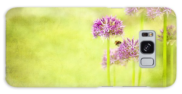 Morning In The Garden Galaxy Case by Beve Brown-Clark Photography