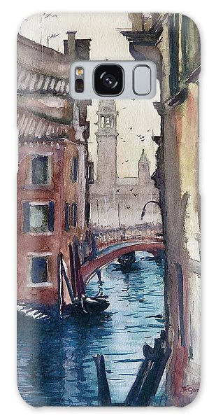 Morning In Venice Galaxy Case by Geni Gorani